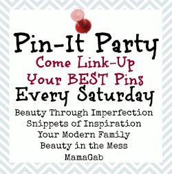 Saturday Pin-it Party & Starbucks Giveaway!