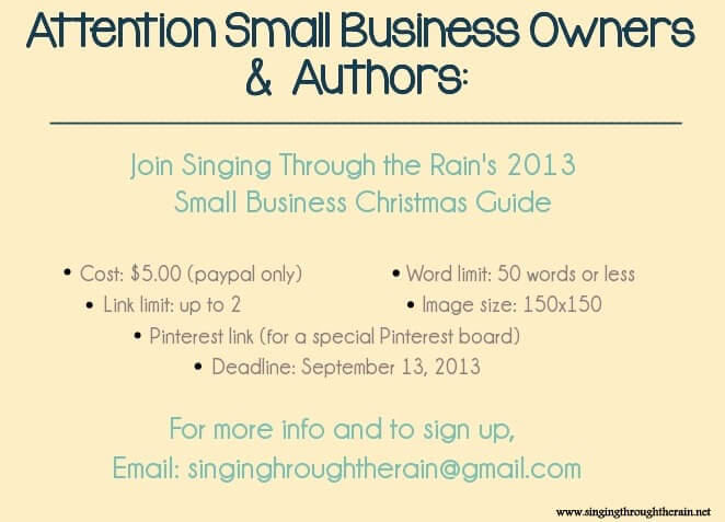 Attention Small Business Owners & Authors!