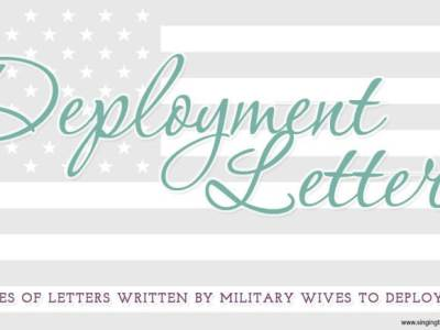 Dear Deployment: Sincerely, Joy