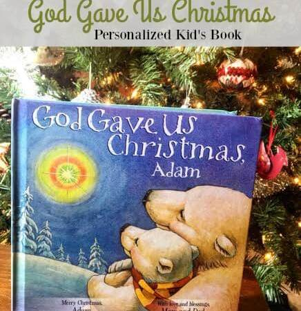 God Gave Us Christmas – Personalized Kid's Book