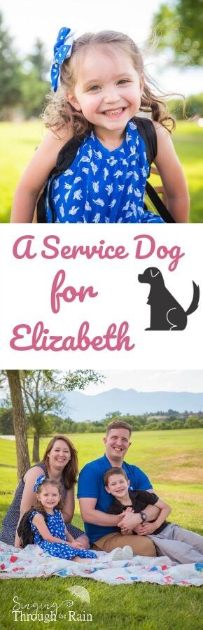 A Service Dog for Elizabeth