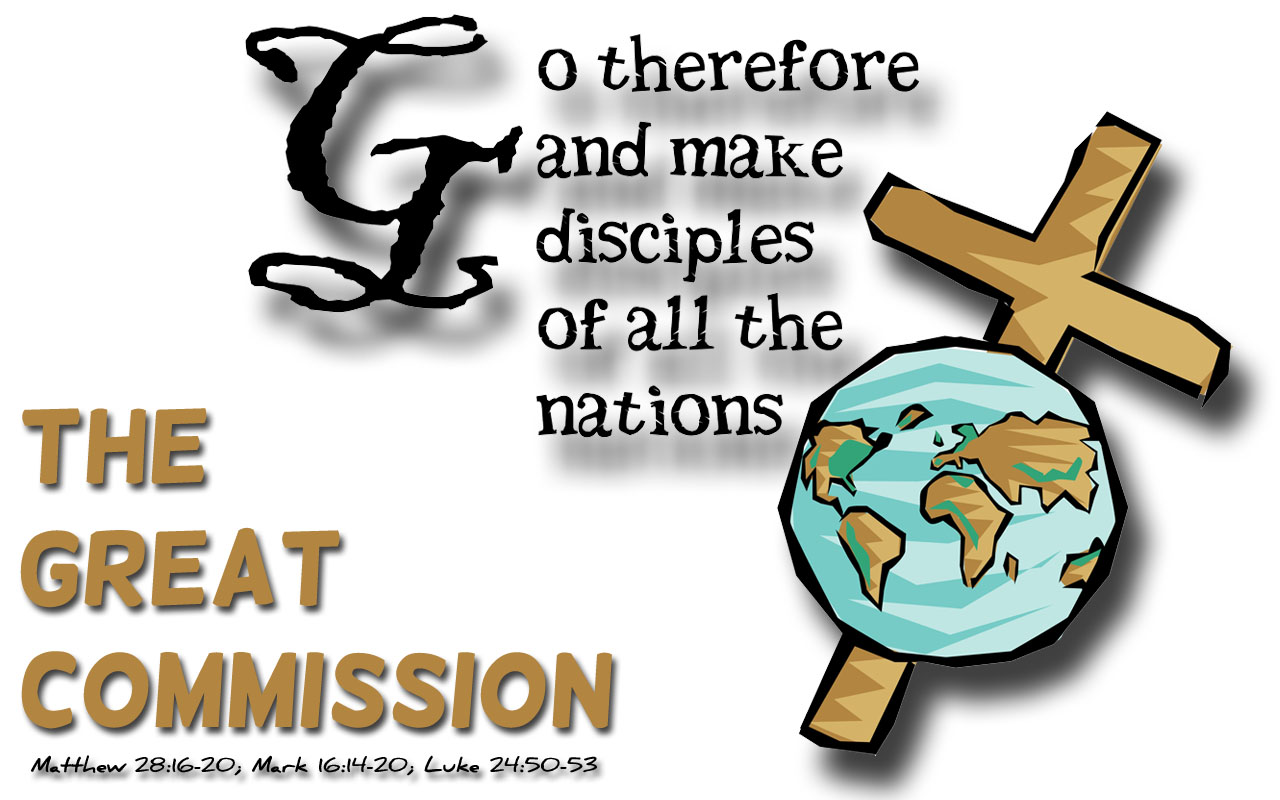 The Start Of The Great Commission Nov 2nd