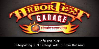 Café con UI: Integrating XUI Dialogs with a Java Backend