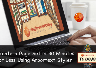 Create a Page Set in 30 Minutes or Less Using Arbortext Styler
