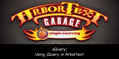 aQuery: Using jQuery in Arbortext