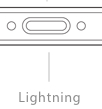 picture of lightning port