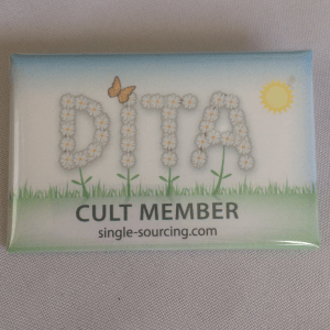 DITA Cult Button product image