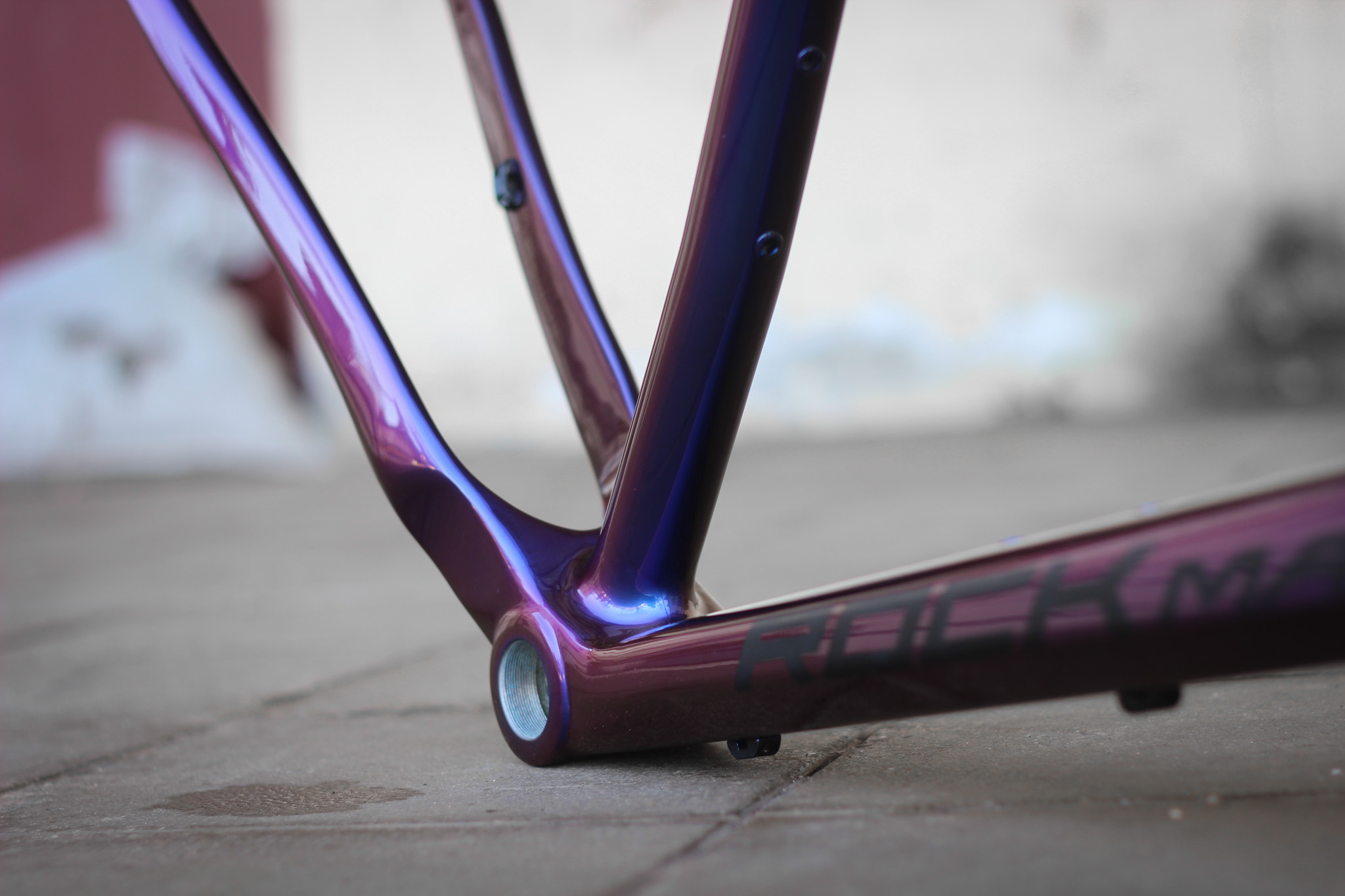 How To Repaint Carbon Frame To A New Chameleon Color