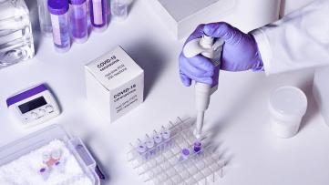 An image of coronavirus tests