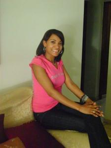 June a Dominican Girl