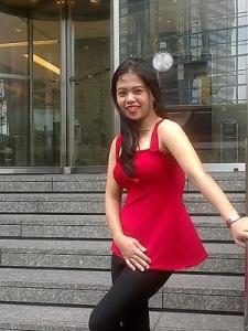 Hong Kong Girl in Hong Kong