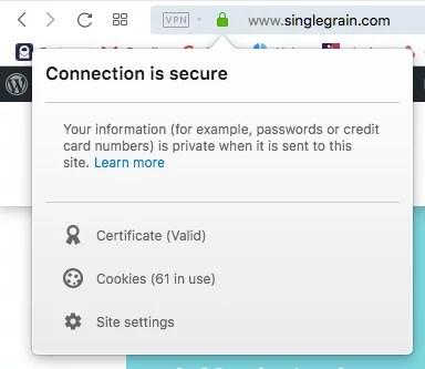 Sito Web sicuro