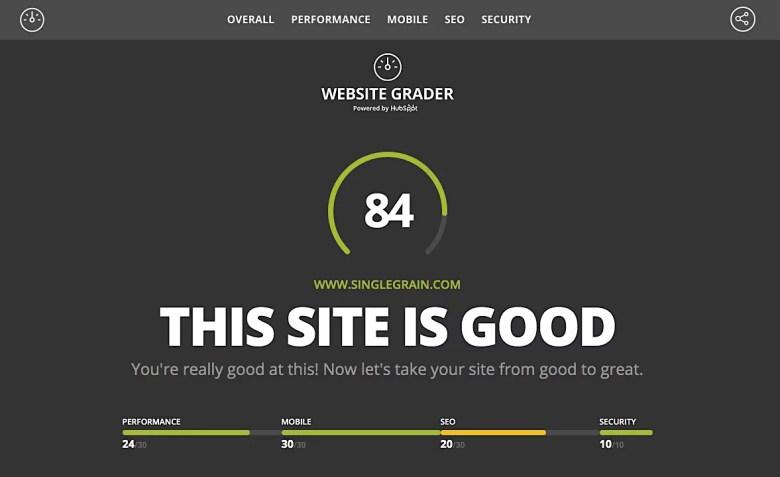Selezionatore di siti Web
