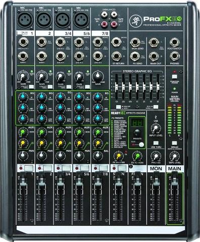 Apparecchiature audio - mixer