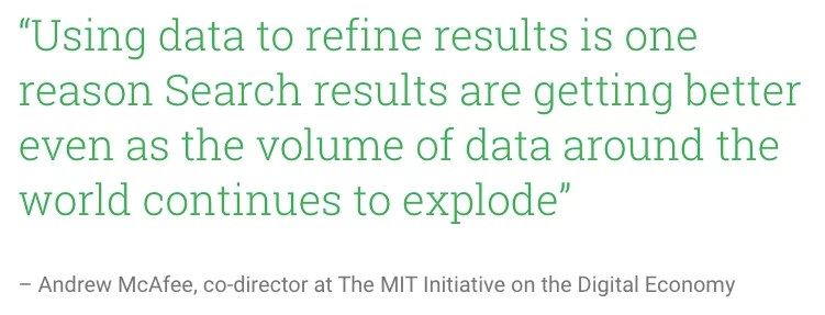 La ricerca sta diventando più intelligente