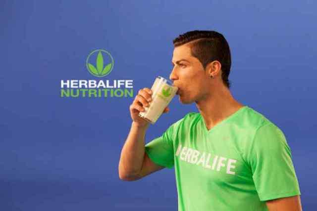 Cristiano Ronaldo partner Herbalife Nutrition