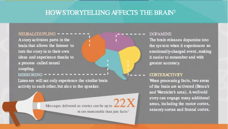 Storytelling e il cervello