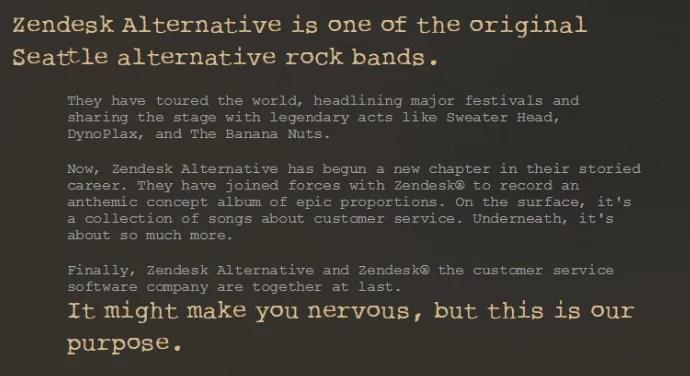 marchio alternativo zendesk