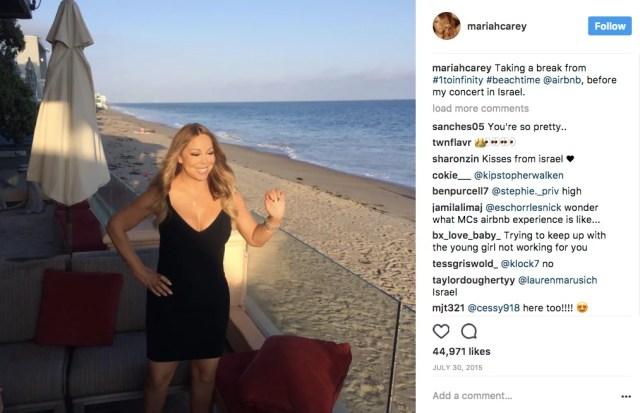 mariah-carey-airbnb-sponsored-instagram-post