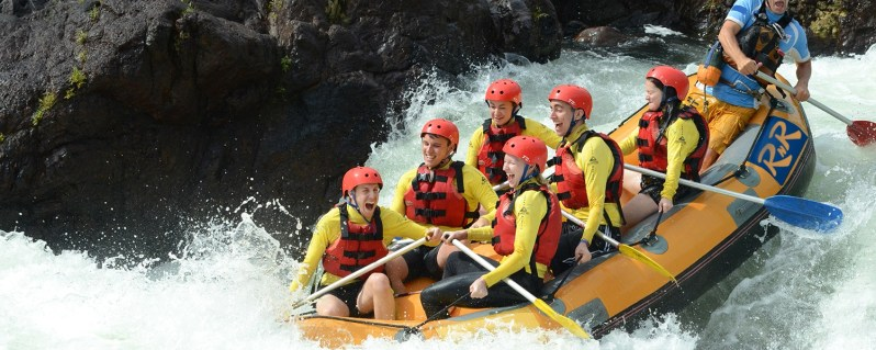 best places for white water rafting