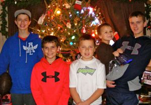 Christmas Picture of the kids