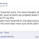 Natalie Grant at the Grammys