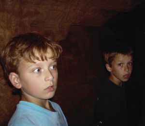 Troy and Matt in Wind Cave