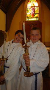 Catholic altar servers