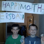 Mother's Day Photos Because With 5 Boys, Every Day is Mother's Day!