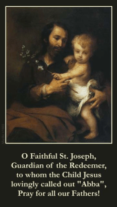 Saint Joseph and Baby Jesus