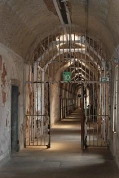 Old prison block