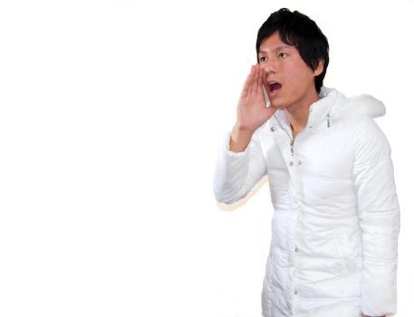 telling or shouting