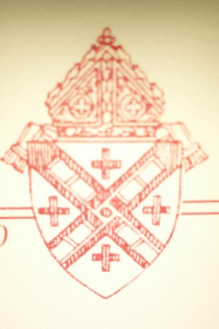 The seal - annulment Archdiocesan coat of arms