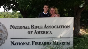 Troy at the National Firearms Museum