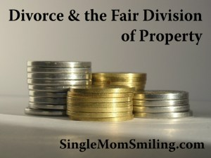 divorce - division of property & Gospel