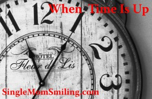 When Time Is Up - Clock