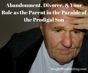 Abandonment, Divorce, Sad, Old Single Parent - Prodigal Son