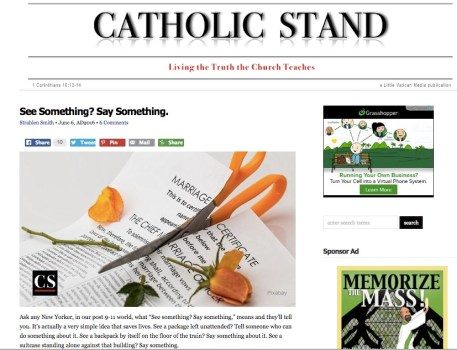 Catholic Stand Relevant Radio Morning Air