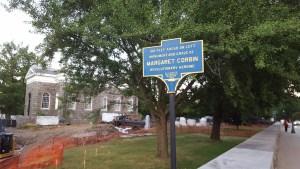 Margaret Corbin historical marker