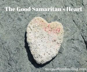 Good Samaritan's Heart - Stone Heart