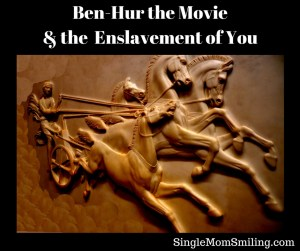 Ben-Hur & Enslavement - racing Roman chariot