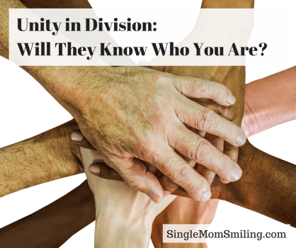 unity in different hands joined together