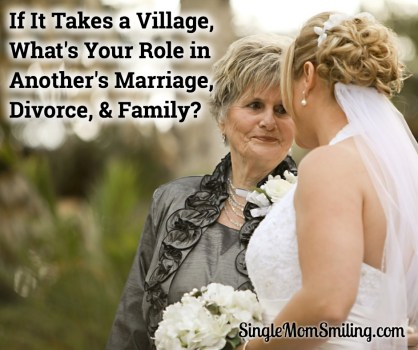 Marriage, Divorce, Family - Woman Talking to Bride
