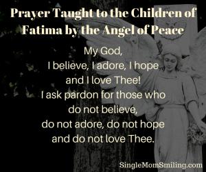 Fatima Prayer for Conversions