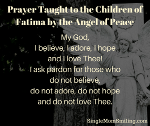 Fatima Prayer for Conversions
