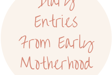 diary-entries-from-early-motherhood