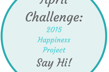 Happiness Project April