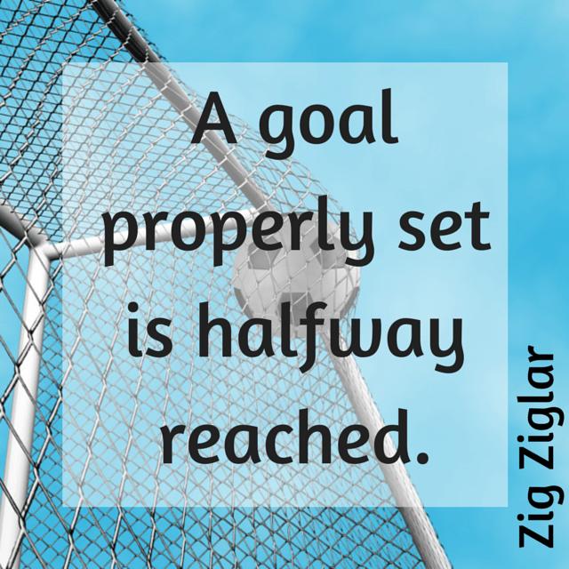 zig ziglar goal setting quote