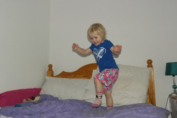 dancing toddler