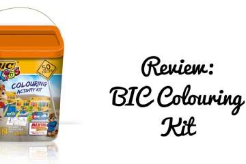 BIC colouring kit review